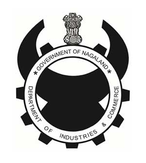 Industries and commerce: nagaland logo